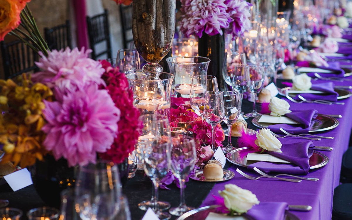 Black Radiance & Purple passion Wedding