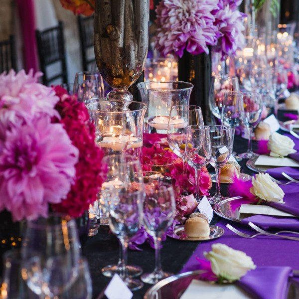 Black Radiance & Purple passion Wedding