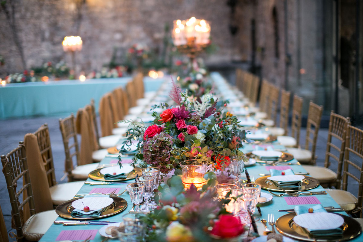 tablescape-coral-mint-wedding