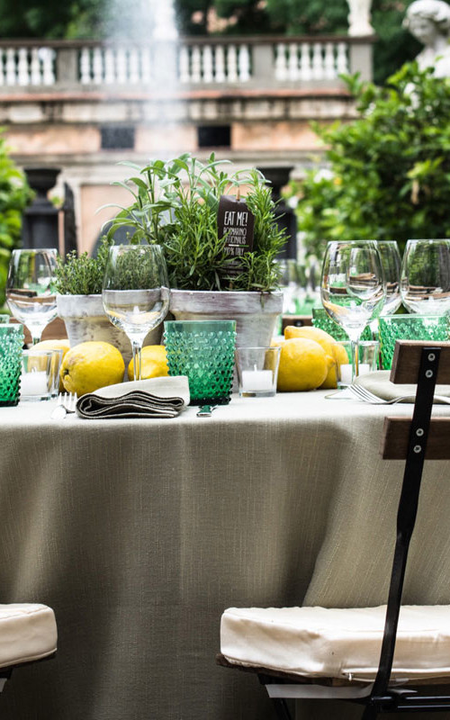 Herbs and Lemons: Mediterranean Rehearsal in Tuscany