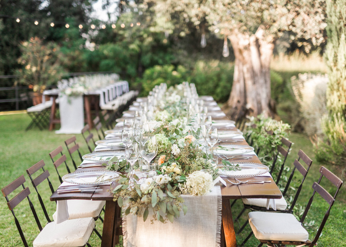 intimate stylish romantic wedding tuscany