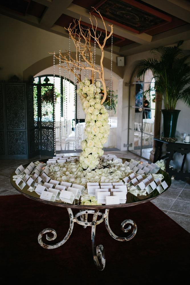 manzanite tree luxury escort table