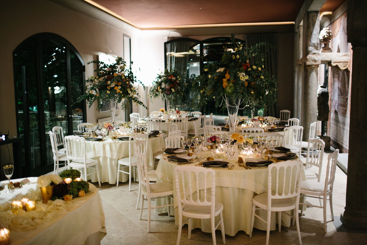 vintage meets modern reception