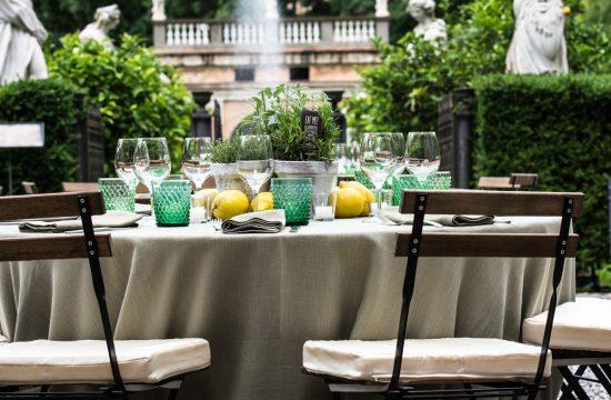 herbs and lemons theme wedding