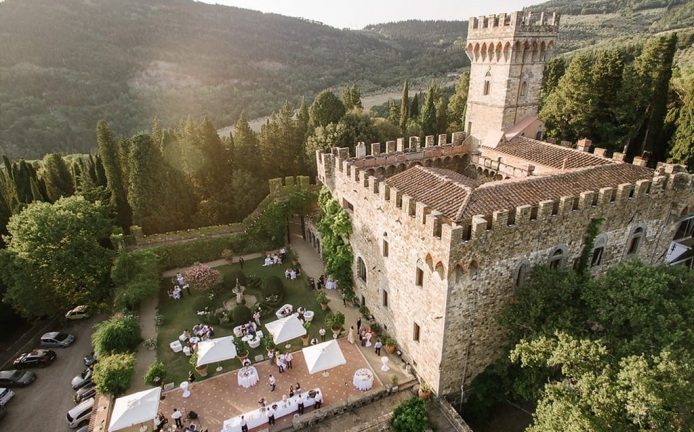 Florence hills castle for weddings